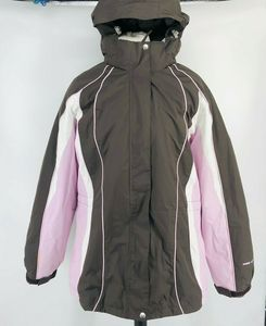 Free Country XL Coat Separate Quilted Lining Pink